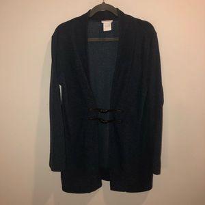 Soft surroundings robe navy blue